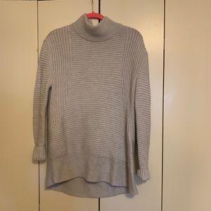 Gray Athleta turtleneck sweater , size small